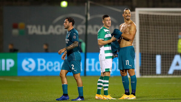 Comfortable Night For Ac Milan In Tallaght As Shamrock Rovers Go Out Of Europe