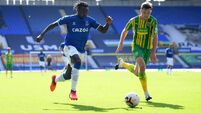 Everton v West Bromwich Albion - Premier League - Goodison Park