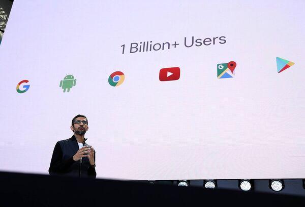 Google CEO Sundar Pichai. Picture:Justin Sullivan/Getty Images