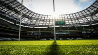 A general view of the Aviva Stadium ahead of the game 8/2/2020