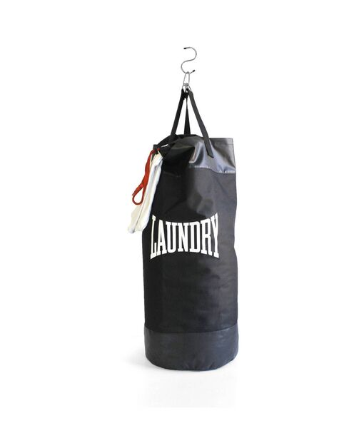 Black Punch Bag laundry bag, Rockett St George.