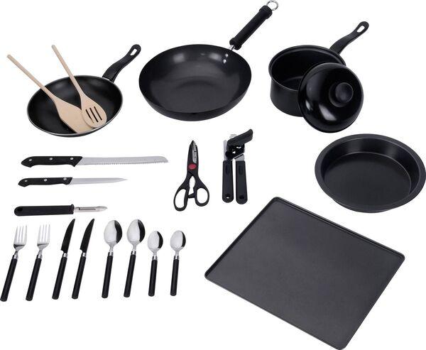 Argos Home 20-piece kitchen essentials starter kit.