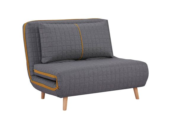 Habitat Roma small double quilted sofa bed, Argos Home.