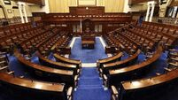 FILE PHOTO Pressure is growing for TDs to return to Leinster House for sittings of the Dail END
