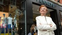 Breege O'Donoghue, outside Penneys, Mary Street, Dublin. (see interview)