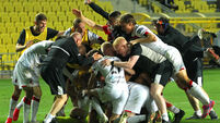 Dundalk celebrate winning on penalties 24/9/2020