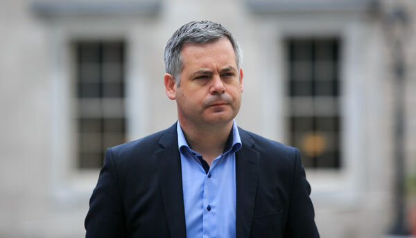 "Sinn Féin Finance spokesperson Pearse Doherty: ""It is difficult, but I know that the people of Donegal have kept the virus at bay for a long time, but it shows how quickly this can get a grip in your community."" Picture: Gareth Chaney/Collins"