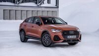 Audi Q3 : pick of the SUV coupe movement in looks alone