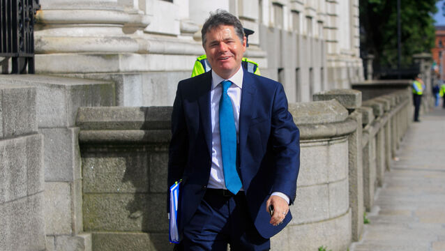 <p>Mr Donohoe rejected the suggestion that the scheme might be used by employers to purchase new machinery. Picture: Gareth Chaney/Collins</p>