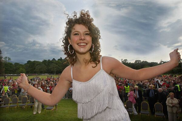 Jessie Buckley arrived back to a huge welcome in Killarney in 2008 after coming second in Andrew Lloyd Webber's talent show I'd Do Anything, Picture: Valerie O'Sullivan