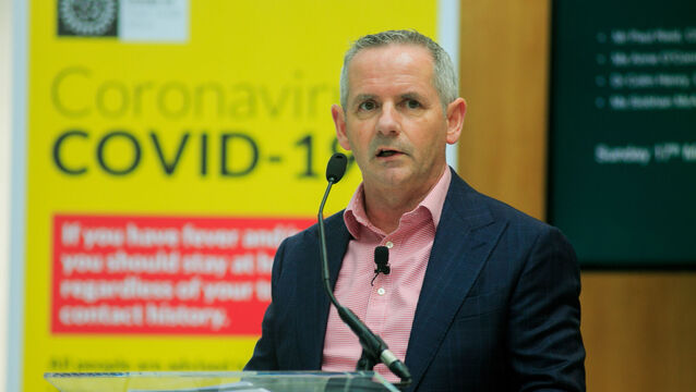 <p>Health Service Executive (HSE) chief executive Paul Reid: Photocall Ireland/PA Wire </p>