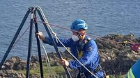 Girl, 11, rescued from cliff ledge after dramatic fall in Co Down