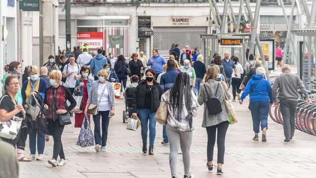 "<p>The rate of Covid-19 in Cork is ""rising fast"" with one in five cases now linked to pubs and restaurants. Picture: Andy Gibson</p>"