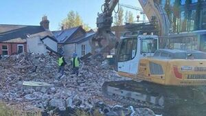 Outcry as home of The O'Rahilly demolished overnight to make way for apartments