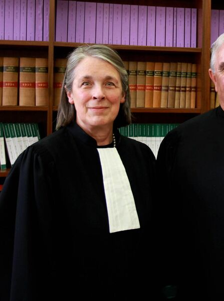 The Irish Examiner has learned that the members of the           Supreme Court will meet in person by way of a corporeal           meeting in Green Street, Dublin to consider the non-statutory           report produced by former Chief Justice Susan Denham. Picture:           Courtpix