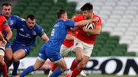 Conor Murray is tackled by Luke McGrath 4/9/2020