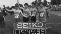 World 4 x 1 mile relay record attempt