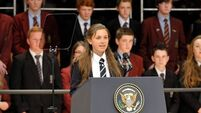Shy teenager 'couldn't sleep a wink' before Obama speech