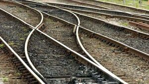 Woman dies after being hit by train in Dublin