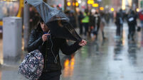Flood warnings for Cork city and Bantry as yellow rain warning comes into effect