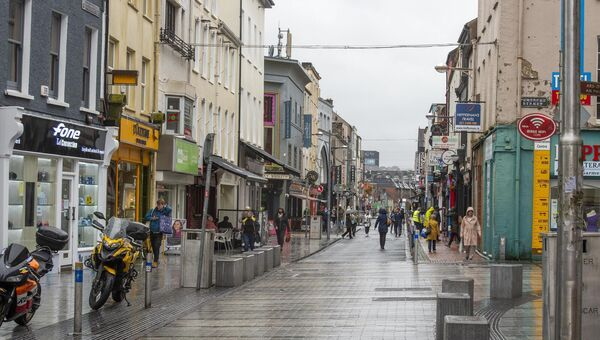 A quiet afternoon in Cork City Centre. Retail faces more challenges as further restrictions are considered. Picture: Dan Linehan