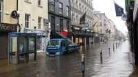 Cork city centre badly hit by early morning floods