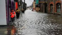 Businesses commence clean-up as coastal flooding lashes West Cork
