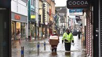 Cork city experiences 'worst flooding in years'