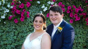 Wedding of the week: A ukulele and a knitted bride and groom at Mairéad and Kieran's wedding