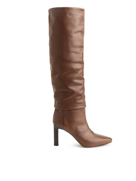 Slouchy Knee-High Boot, €290, Arket