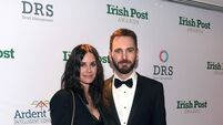 Lockdown keeps Courteney Cox and Johnny McDaid at opposite sides of the world