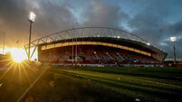 A general view of Thomond Park 10/10/2020