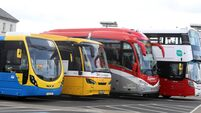 FILE PHOTO Bus Eireann has announced that multiple Expressway interity routes are to be cancelled during the Covid crisis END