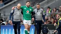 Cian Healy ruled out of final Six Nations games due to hip injury
