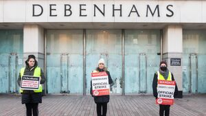 Debenhams protester faced potential arrest when picketing Tralee store
