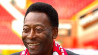 Soccer - Brazilian legend Pele visits Sheffield United - Sheffield