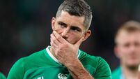 Disappointed Rob Kearney 19/10/2019