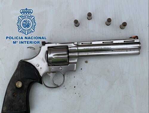 Spanish police uncovered the revolver after the search of a premises in Alicante, Spain. John Gilligan was arrested after an international operation.