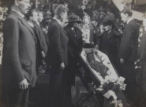 Terence MacSwiney lying in State.