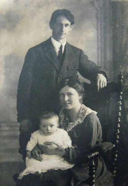 Terence McSwiney and his family.