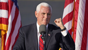 Mike Pence's top aide tests positive for coronavirus