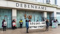 Calls for an end to Debenhams dispute as pickets pass 200 days