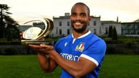 Italian star Maxime Mbanda honoured for his heroic off field actions