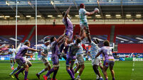Bernard Le Roux wins a line out 17/10/2020