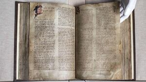 Medieval Book of Lismore returns home to Cork after 'eventful' 500-year journey