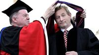 Protests as Taoiseach receives honorary doctorate in Boston