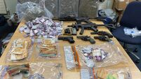 Gardaí seize over €90,000 worth of drugs and six imitation guns in Dublin