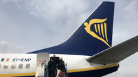 FILE PHOTO Ryanair has lost its case against the Government's international travel regulations. The High Court has that Governme