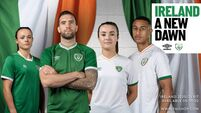 New Republic of Ireland jerseys revealed as Umbro return as kit supplier
