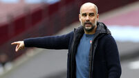 Pep Guardiola File Photo